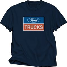 58a608f85d6d4 Selling on vFLea.com - Ford Trucks on a Blue Gray New Large Tee Shirt  w tags-also red