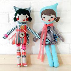 Muñecas de tela @ Pichoniza*  Pichoniza.blogspot.mx