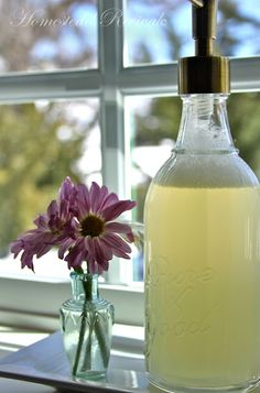 Homemade Liquid Handsoap