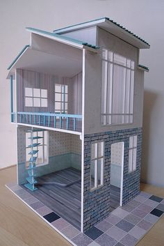 New DIY Dollhouse by thung², via Flickr