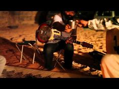 Tinariwen is a band of Tuareg-Berber musicians from the Sahara Desert region of northern Mali. The band was formed around 1979 in refugee camps in Libya but returned to Mali after a cease-fire in the 1990s. This is Tenere Taqqim Tossam (Jealous Desert) featuring Tunde Adebimpe & Kyp Malone from TV On The Radio. Just beautiful.