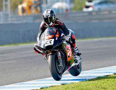 Marco Melandri race action shot