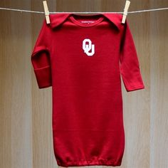 Oklahoma Baby Lap Shoulder Gown
