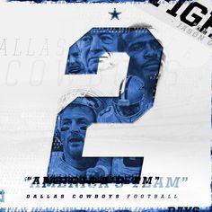 Dallas Cowboys 2015-16 Social Media Graphics on Behance