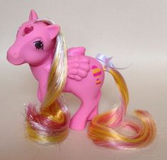 Sold £9.50 ✩ My Little Pony ✩ G1 Princess Brush N Grow Pony Glittering Gem Stunning! | eBay