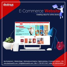 Wondering why your e-store is not getting the traffic it should? Have you paid close attention to the overall user-friendliness of your e-commerce website? If not, contact us and we can make sure that your business soars! Website Development Company, App Development, Ecommerce Website Design, Multimedia, Digital Marketing, Graphics, India, Store, Business
