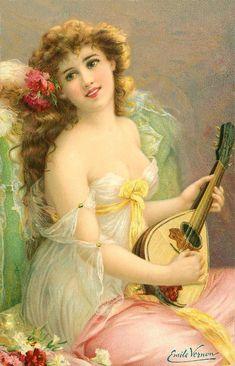 نقره لعرض الصورة في صفحة مستقلة. Beautiful painting by Émile Vernon