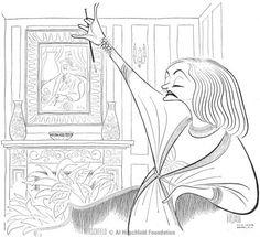 Talulah Bankhead by Al Hirschfeld