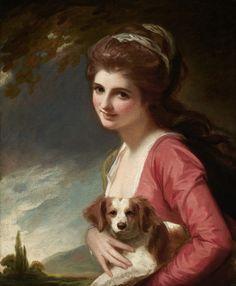 Lady Hamilton as Nature, George Romney c. 1782