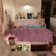 Dream Rooms, Dream Bedroom, Room Ideas Bedroom, Bedroom Decor, Bedroom Inspo, Pastel Room, Aesthetic Room Decor, Cool Rooms, My New Room