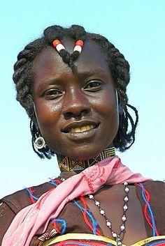 Nuba woman, Sudan