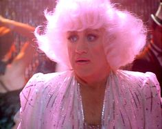 Gene Hackman made a rather shocking appearance as a bleach blonde at the climax of 1996's The Birdcage.