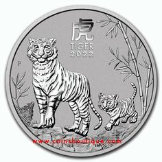 Year Of The Tiger, Antique Coins, Effigy, Elizabeth Ii, Silver Coins, Perth, Pure Products, Legal Tender