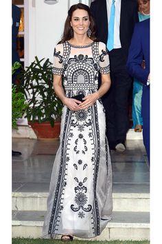 Индийское модное турне Кейт Миддлтон   Мода   Выбор VOGUE   VOGUE
