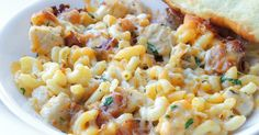 Baked Chicken, Bacon & Ranch Macaroni and Cheese Recipe on Yummly. Macaroni N Cheese Recipe, Cheese Recipes, Baked Chicken, Chicken Recipes, Chicken Bacon Ranch Casserole, Dinner Sides, Meal Planner, Stuffed Peppers, Hot Sauce