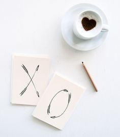 arrows of love for coffee