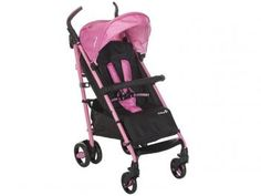 Carrinho de Bebê Passeio Safety 1st Compa?City II - Reclinável 4 Posições para Crianças até 15kg