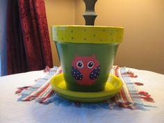 Image result for owl terra cotta pots
