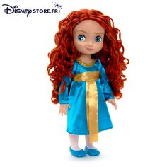 Merida doll from Disney Pixar's 'Brave.' This looks like it will be in the same style of the Disney Animators' Collection that I love so much. How adorable!
