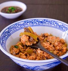 Mixed Steamed Rice with Beef and White Radish