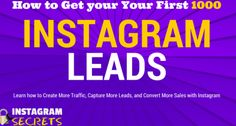 Instagram Marketing Secrets Internet Marketing, Online Marketing, Digital Marketing, Online Web Design, Free Blog, Lead Generation, You Got This, The Secret, How To Get