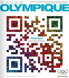 QRcode mosaique pour La Revue Olympique   QRdressCode   Scoop.it