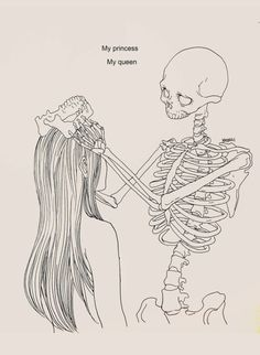 """My princess My queen"" © Haenuli."