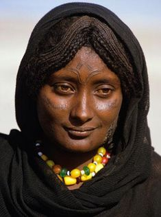 Portrait of Afar Woman by Angela Fisher and Carol Beckwith (please do not repin without including photographer's credits)