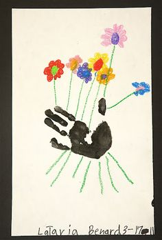 Hand print...Mother's Day idea??