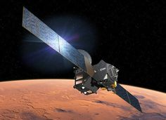 Europe and Russia are set to launch an unmanned spacecraft Monday to smell Mars' atmosphere for gassy evidence that life once existed on the Red Planet, or may do so still. Barack Obama, Ecuador, Atmospheric Circulation, Axial Tilt, Donald Trump, Physics World, Water On Mars, Travel, Outer Space