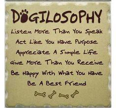 DOGILOSOPHY...