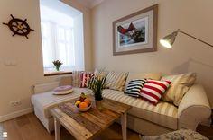 Apartament MARINA / SANHAUS APARTMENTS - zdjęcie od SANHAUS Jarosław Ziółek - Salon - Styl Skandynawski - SANHAUS Jarosław Ziółek