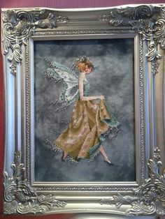 Cross Stitched Ivy Fairy.  Need to get this one