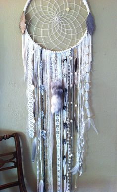 dream catcher by rachael rice, via Flickr - very intricate & awesome. I would love to know how to make one of these.
