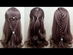 6 Amazing Hair Transformations - Easy Beautiful Hairstyles Tutorials Best Hairstyles for Girls - YouTube