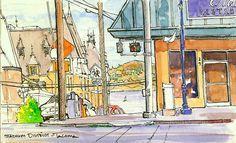 urban sketching tutorial - Google Search