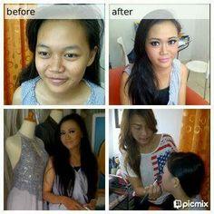 Makeup wedding ms: lidia