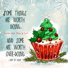 """...somethings are worth overdoing."""""""