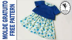 See related links to what you are looking for. Como Fazer Short, Baby Dress Patterns, Baby Sewing, Frocks, Silk Sarees, Blouses For Women, Doll Clothes, Free Pattern, Girls Dresses