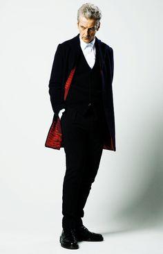Peter Capaldi - The Twelfth Doctor.