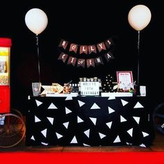 """Birthday parties with that """"wow"""" factor, come see us. Movie screen by @hollywoodhire popcorn machine by @slushalicious photo booth by @vintagebooths photography by @suzannekentphotography all styling and creative work by us at #yourpartyplannery #childrensparty #birthdayparty #partyplanner #eventplanning #adelaideevents #eventstyling #kickassparties #wowfactor #evedeso #eventdesignsource - posted by Your Party Plannery https://www.instagram.com/yourpartyplannery. See more Event Designs at…"""