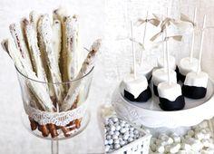 Vintage Winter White Desserts - Love