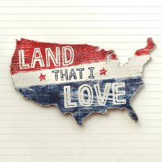 Hey, I found this really awesome Etsy listing at https://www.etsy.com/listing/233416898/usa-map-art-land-that-i-love-large-us