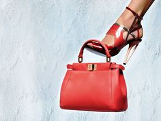 Fendi Red Spring and Summer 2014 Ad Campaign