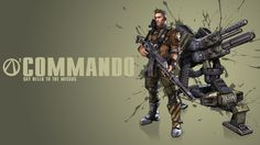 Borderlands 2 Commando Wallpaper by CodyAWilliams.deviantart.com on @deviantART
