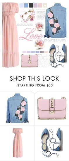 """""""TENDENCIAS DEL COLOR"""" by licethfashion ❤ liked on Polyvore featuring Valentino, Chicwish, Gap, polyvoreeditorial and licethfashion"""