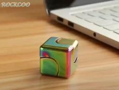 With this Next Generation Cube Spinner, everyone can have hours and hours of fun spinning it! How To Relieve Stress, Deep Thoughts, Spinning, Cube, Magic, Toys, Creative, Gifts, Tricot