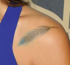 16 Forearm Feather Tattoo