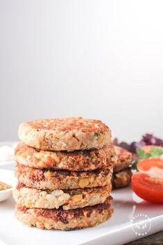 Hamburguesas Vegetarianas de Garbanzos – Delicious Home
