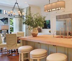 white kitchen design Trends for 2015 Inside Cabinets, Grey Cabinets, Kitchen Cabinets, Ikea Kitchen, Kitchen Decor, Kitchen Ideas, Blue White Kitchens, Lampe Led, Kitchen Fixtures